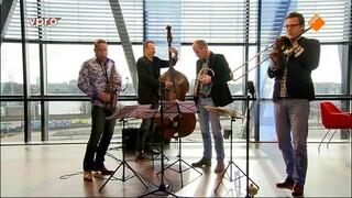 VPRO Vrije geluiden Paul van Kemenade, Mark Alban Lotz en Kees Wieringa