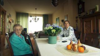Tuinbaas Arnold Achterkamp en burgemeester Bruls van Nijmegen