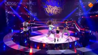Optreden Chantal - 1e halve finale