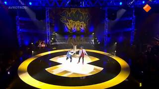 Optreden Jelle & Haron - 1e halve finale