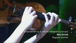 Aflevering 3 - Ragazze Quartet speelt Bartók