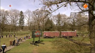 NOS 70 jaar bevrijding: Herdenking kamp Westerbork
