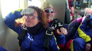 Parachutespringen als honderdjarige