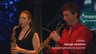 Berlage Saxophone Quartet speelt 'Lullaby'