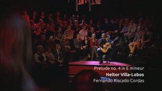 Fernando Riscado Cordas speelt Villa-Lobos