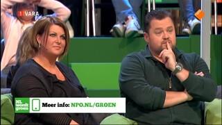 Nederland wordt groen