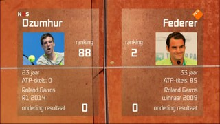Nos Studio Sport - Tennis Roland Garros