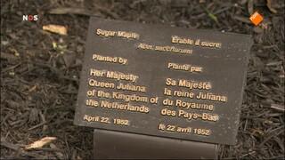 NOS 70 jaar Bevrijding: Koningspaar in Canada