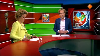Nos Studio Sport Wk Voetbal Vrouwen - Canada - China