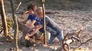 Kindertijd Sjouwen en Bouwen