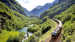 Rail Away - Noorwegen: Flamsbana, Bergen-flam