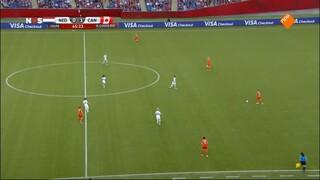 WK Voetbal vrouwen 2de helft Nederland - Canada