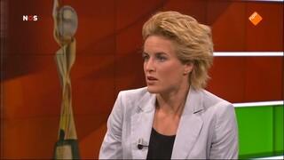 NOS Studio Sport WK Voetbal vrouwen wedstrijdanalyse Japan - Nederland