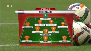 NOS Studio Sport WK Voetbal vrouwen voorbeschouwing en 1ste helft Japan - Nederland