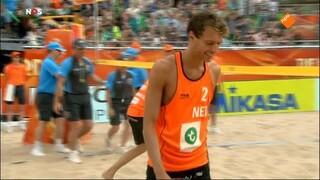 NOS Studio Sport WK Beachvolleybal