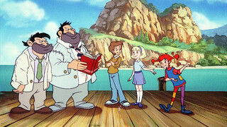 Pippi animatie Pippi en de witte dame
