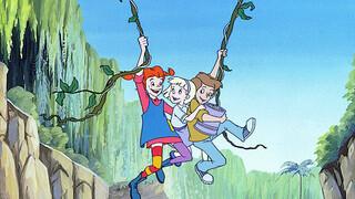 Pippi animatie Pippi lijdt schipbreuk