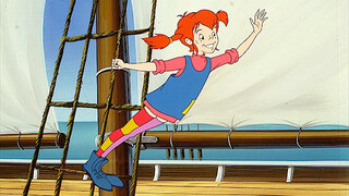 Pippi animatie Pippi helpt tante Matilda