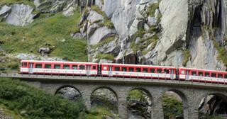 Rail Away - Zwitserland: Fluelen - Göschenen - Realp - Furka
