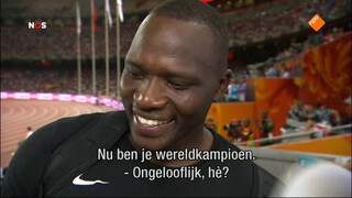 NOS Studio Sport EK Hockey 2de helft Nederland - België