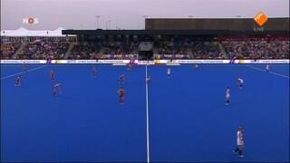 NOS Studio Sport EK Hockey finale vrouwen 2de helft Nederland - Engeland en nabeschouwing