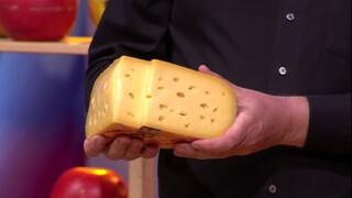 Hoe komen er gaten in kaas?