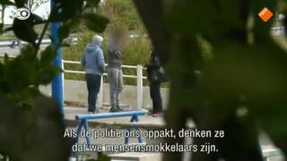 Danny ontmoet een mensensmokkelaar