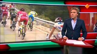 NOS Studio Sport Wielrennen Vuelta Roa - Riaza