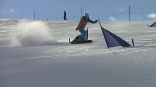 Snowboardster Michelle
