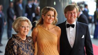 Blauw Bloed Koninklijke familie bij slotviering '200 jaar Koninkrijk' in Carré