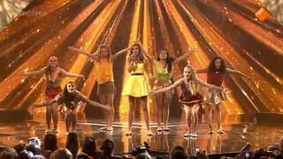 Optreden Myrthe - 2e halve finale