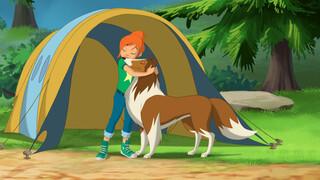 Lassie Animated Gevaar op de berg