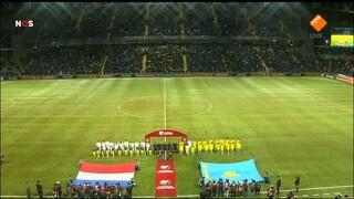 1ste helft Kazachstan - Nederland