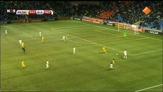 2de helft Kazachstan - Nederland