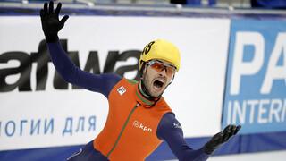 Sjinkie wereldkampioen shorttrack