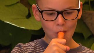 Ga je van wortels eten beter zien?