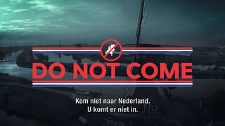 Do not come to Holland