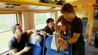 Privéconcert in de trein