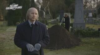 Begrafenisgoochelaar. - Sluipschutters