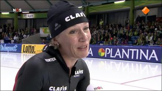 NOS Studio Sport Schaatsen NK Afstanden en Sprint Heerenveen