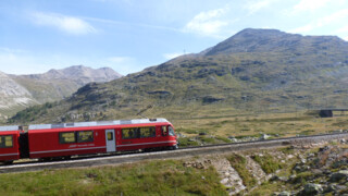 Rail Away - Bernina Express: Pontresia-tirano