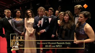 Musical Award Gala De Rode Loper