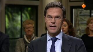 Buitenhof - Minister-president Mark Rutte