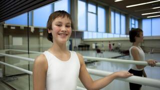 Balletdanser Rodriquez en Hans van Manen