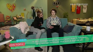 Britt en Niek on topic - Heimwee
