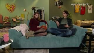 Britt en Niek on topic - Model worden