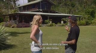 Rob vertelt over de cycloon 'Pam' die over het eiland raasde