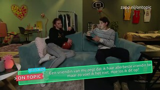 Britt en Niek on topic - Beste vriendin?
