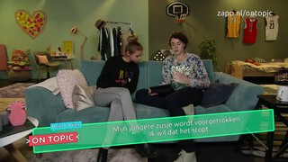 Britt en Niek on topic - Voortrekken