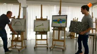 Een schilder-experiment